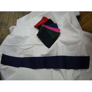 Cotton girth sleeve